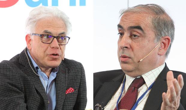 Jesús María Fernández y José Martínez Olmos