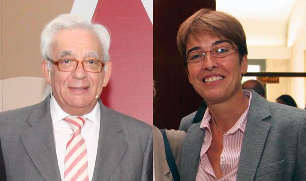 Jesús Sánchez Martos y Carmen Martínez Pancorbo