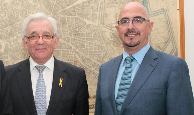 Jesús Sánchez Martos y César Pascual