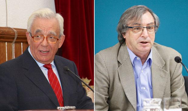 Jesús Sánchez Martos y Fernando Chacón