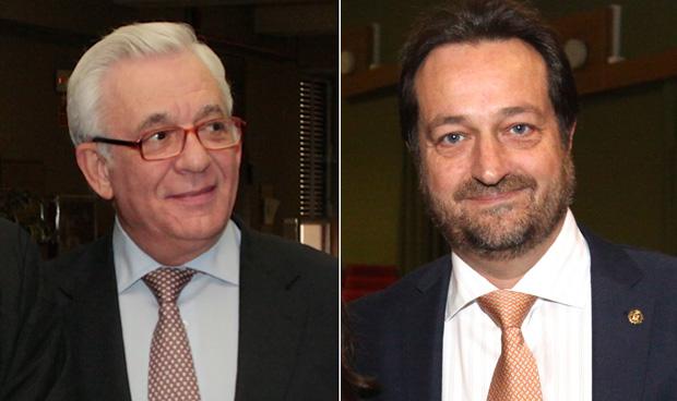 Jesús Sánchez Martos y Fernando Prados