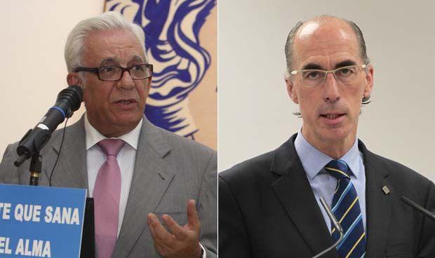 Jesús Sánchez Martos y Jesús Vázquez Almuiña