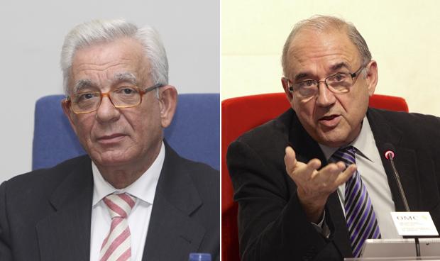 Jesús Sánchez Martos y Juan José Rodríguez Sendín