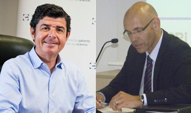 Jesús Sobrino y Roman Stampfli