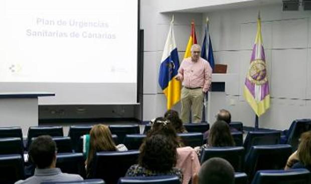 Jiménez presenta el Plan de Urgencias a la Gerencia de AP de Gran Canaria