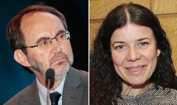 Jorge Sierra y Patricia Lacruz