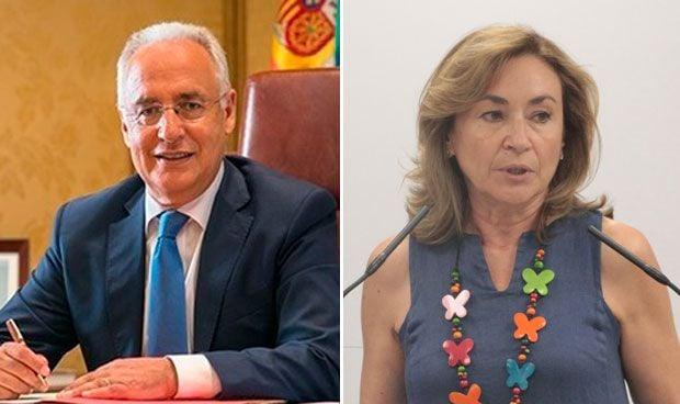 José Ignacio Ceniceros y María Martín