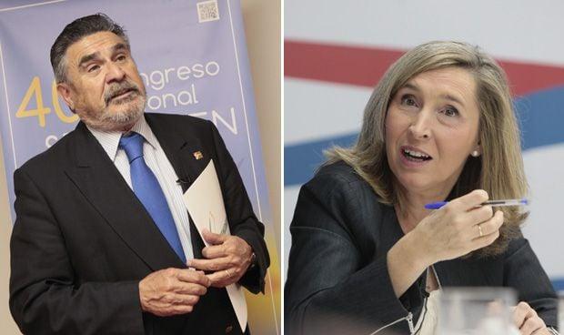 José Luis Llisterri e Irene Bretón