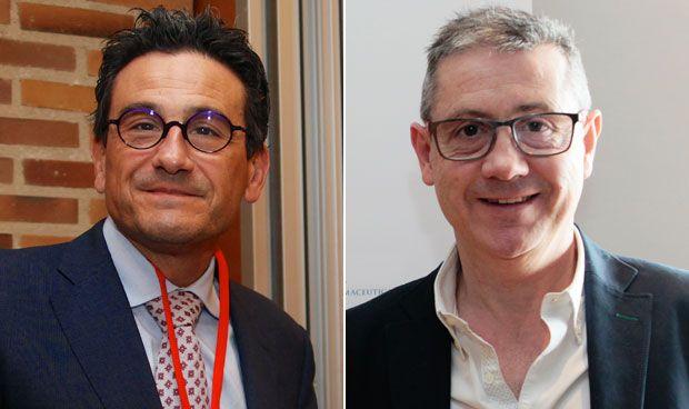 José Luis Poveda y Juan Carlos Valenzuela