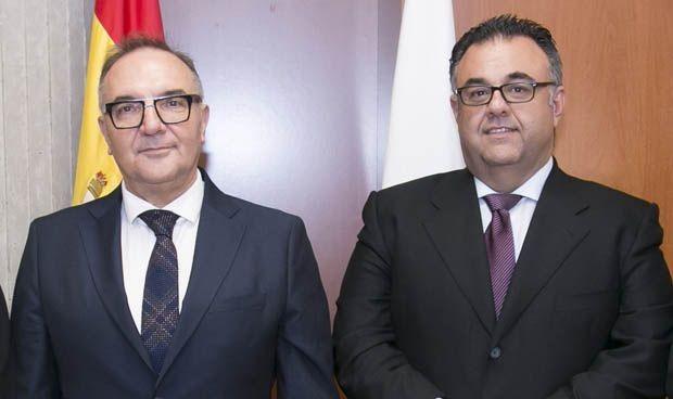José Manuel Baltar y Conrado Domínguez