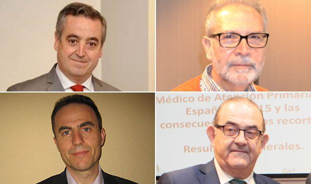 José Manuel Cózar, Francisco José Brenes, José María Molero y Antonio Fernández-Pro