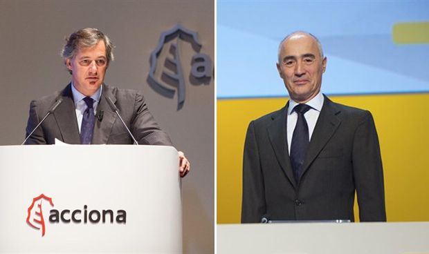 José Manuel Entrecanales y Rafael del Pino