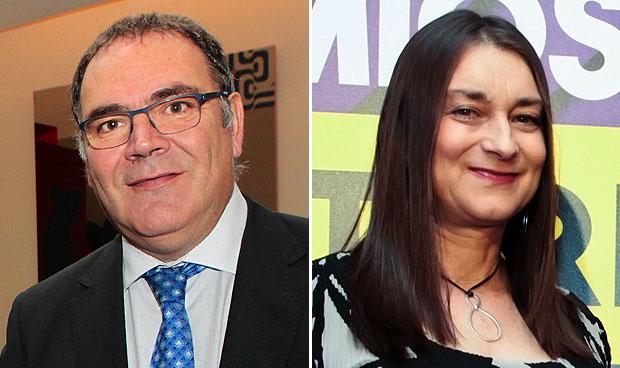 José Manuel Vicente y Ana Lozano