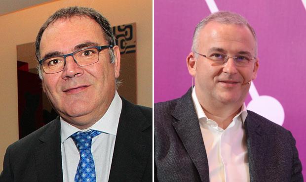 José Manuel Vicente y Javier García Pellicer
