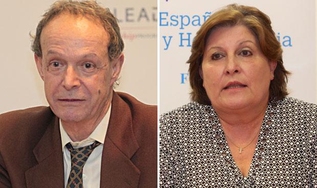 José María Moraleda y Begoña Barragán