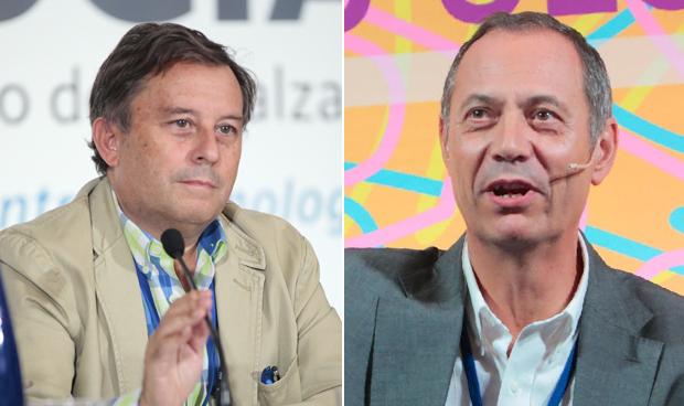 José Miguel Rodríguez González-Moro y José Luis Izquierdo