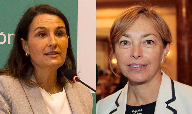 Luisa Martínez Abásolo y Celia García Menéndez