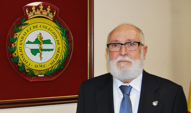 Juan Antonio Repetto, presidente del Consejo Andaluz de Colegios Médicos