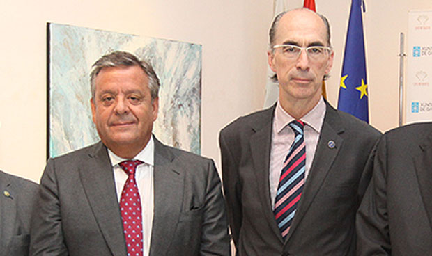 Julio Ancochea y Jesús Vázquez Almuiña