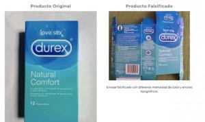 La Aemps alerta de unidades falsificadas de preservativos Durex en España