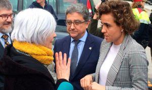 Montserrat defiende la gestión del Estado ante la alcaldesa de Badalona