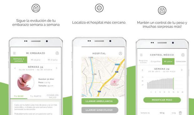 La aplicación 'Mi embarazo al día', la mejor APP Sanitaria 2017
