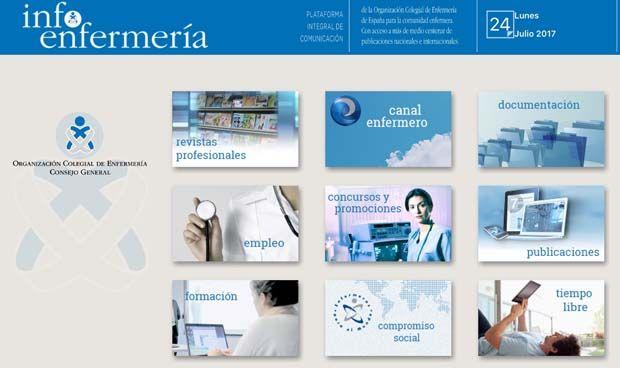 La 'app' InfoEnfermería se renueva con acceso a más de 60 publicaciones