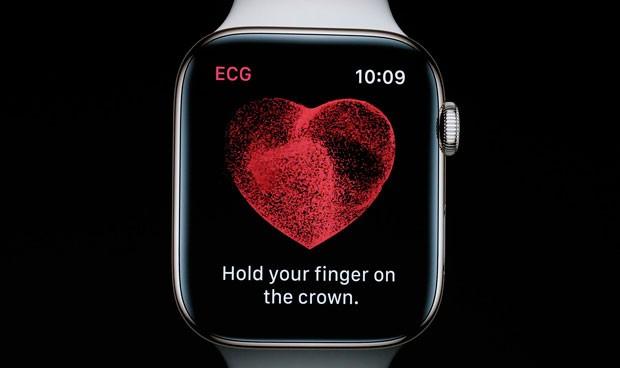 La 'app' que realiza electrocardiogramas desde la muñeca ya está en España