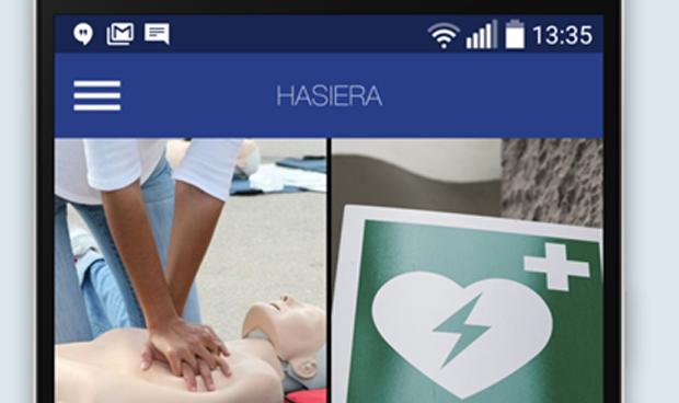 La 'app' vasca de asistencia a la parada cardíaca suma casi 4.000 descargas