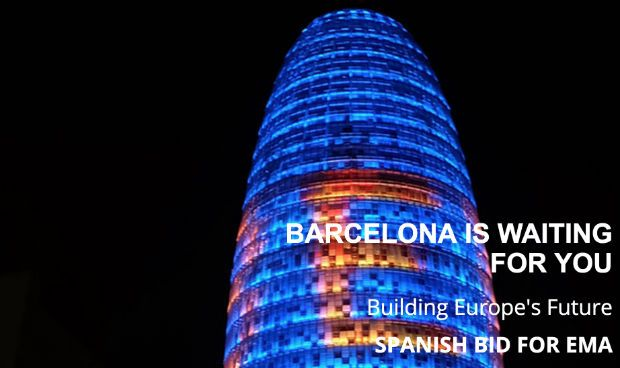 La candidatura de Barcelona para la EMA estrena web