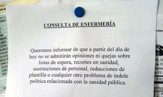 La carta que un enfermero colgó en su puerta y se hizo viral