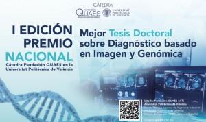 La cátedra Fundación Quaes-UPV premia la mejor tesis en Imagen y Genómica