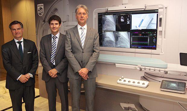 La cirugía no invasiva a golpe de 'click' es posible con una nueva tablet