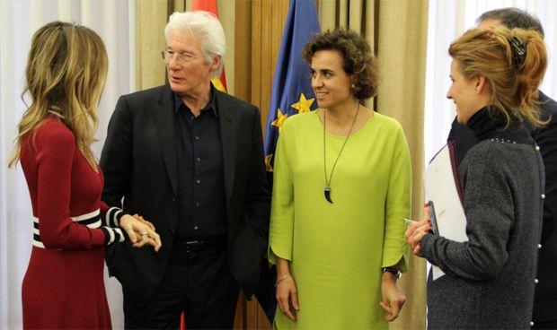 La cita entre Richard Gere y Dolors Montserrat