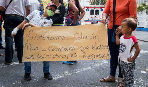 La crisis sanitaria de Venezuela deja sin quimioterapia a niños con cáncer