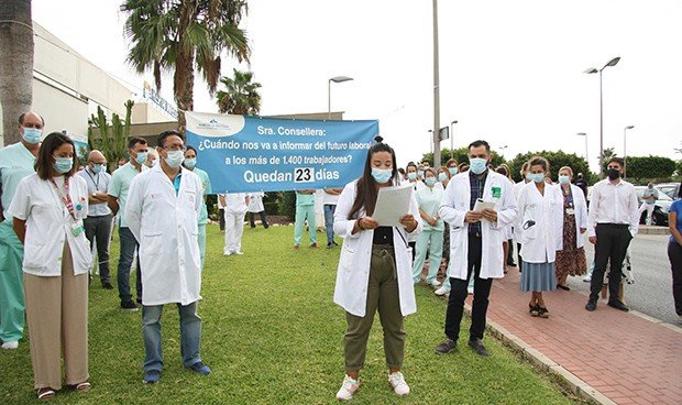 La cuenta atrás de los sanitarios de Torrevieja sigue en marcha