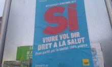 La CUP 'empapela' Cataluña con su politización de la sanidad