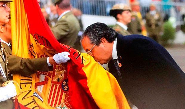 La defensa de la unidad de España del senador sanitario