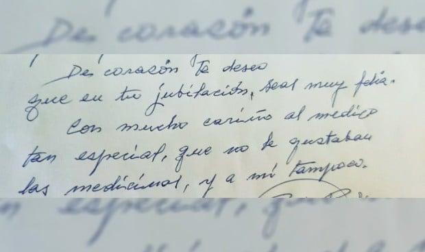 La emotiva carta de un paciente de 92 años a su médico por la jubilación