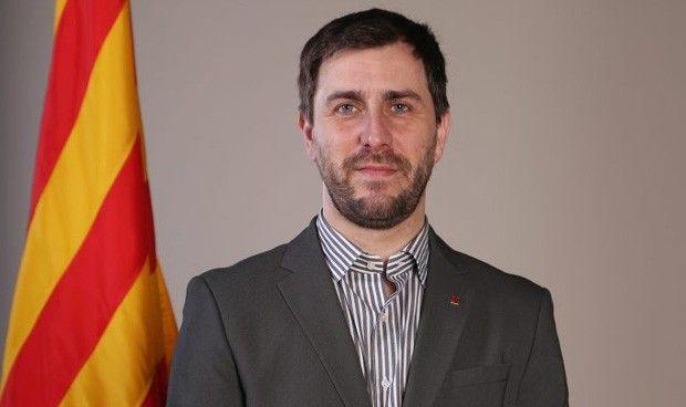 La Enfermería catalana ayuda a organizar un mitin de Comín