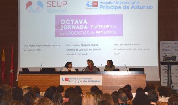 La Enfermería de Urgencias Pediátricas se forma en el Príncipe de Asturias