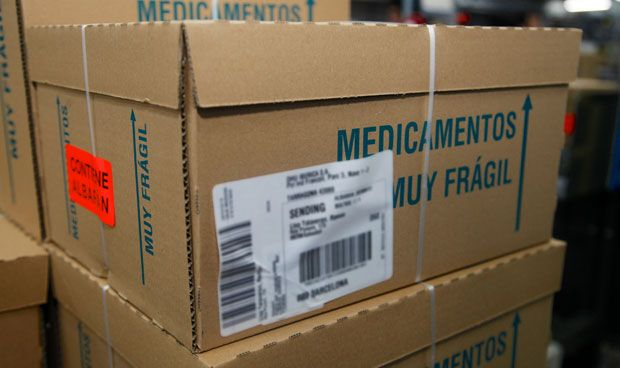 La facturación de productos farmacéuticos cae un 28%