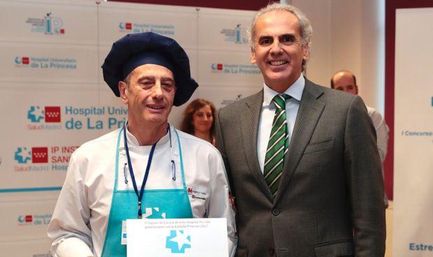 La Fuenfría gana el primer concurso de cocina hospitalaria navideña