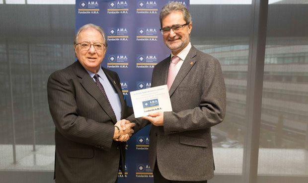 La Fundación AMA reparte 60.000 euros en el Premio Mutualista Solidario