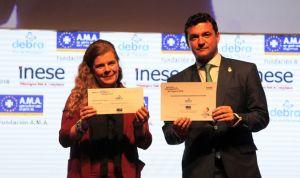 La Fundación AMA premia a la Asociación DEBRA-Piel de Mariposa