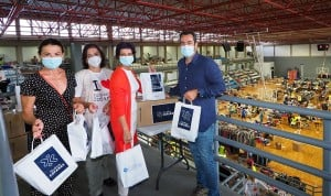 La Fundación Cofares dona productos de salud a los afectados del volcán