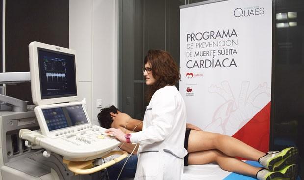 La Fundación Quaes detecta anomalías cardíacas en un 2,5% de adolescentes