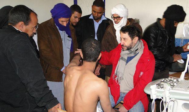 La Fundación SEMG Solidaria forma sobre ecografía a sanitarios del Sáhara
