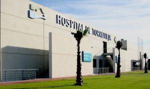 La gestión privada del Hospital de Torrevieja ahorra 45 millones anuales