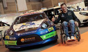 La historia de Albert Llovera: de la silla de ruedas a la NASA y el Dakar